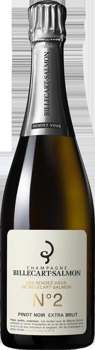 BILLECART SALMON Rendez-Vous No 2 (Pinot Noir) Extra Brut NV, Lea & Sandeman
