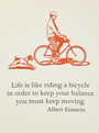 CARD---EINSTEIN-BICYCLE-Archivist-Gallery