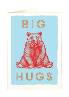 CARDS - BEAR HUGS Archivist Gallery, Lea & Sandeman