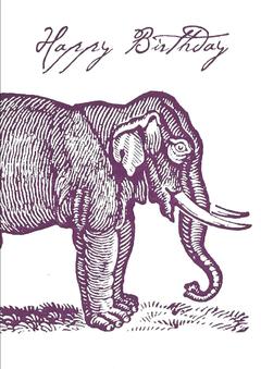 CARD---BIRTHDAY-ELEPHANT-Archivist-Gallery