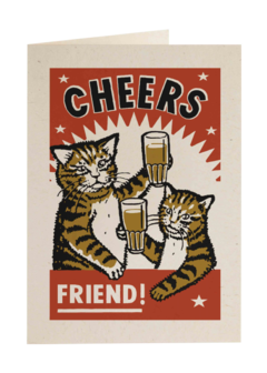 CARDS - CATS CHEERS Archivist Gallery, Lea & Sandeman