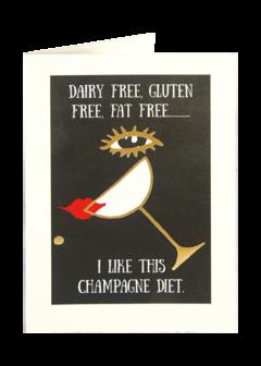 CARDS - CHAMPAGNE DIET Archivist Gallery, Lea & Sandeman