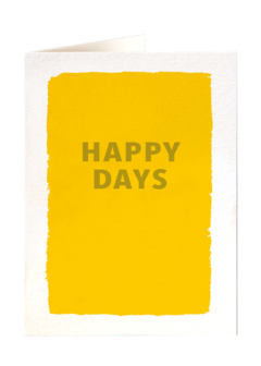 CARDS - HAPPY DAYS Archivist Gallery, Lea & Sandeman