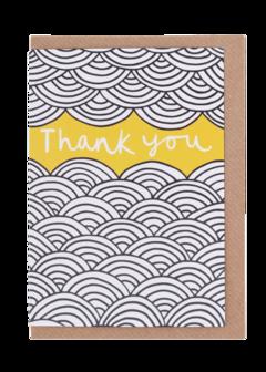 CARDS - THANK YOU SWIRL, Lea & Sandeman
