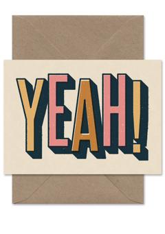 CARDS 'YEAH!' Telegramme Paper Co., Lea & Sandeman