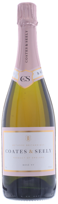 COATES & SEELY Rosé Brut English Sparkling Wine, Lea & Sandeman