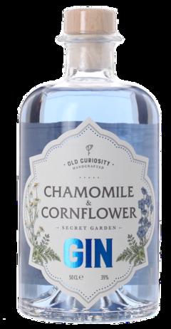CORNFLOWER AND CHAMOMILE GIN The Old Curiosity Distillery, Lea & Sandeman