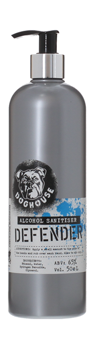 DEFENDER Hand Sanitiser Gel Doghouse Distillery, Lea & Sandeman
