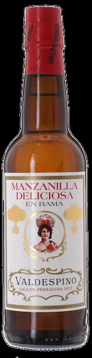 DELICIOSA MANZANILLA En Rama Valdespino 2017 bottling, Lea & Sandeman