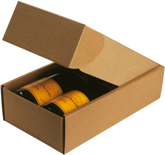 FLUTED-GIFT-BOX-Natural-Two-Bottle-Pack-Cardboard