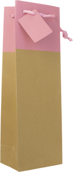 GIFT-BAG-'Kraft'-with-Pink-Sash