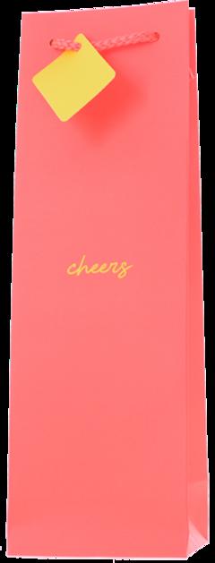GIFT BAG Neon Cheers, Lea & Sandeman