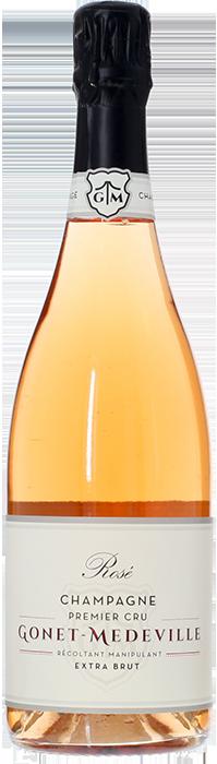 GONET-MÉDEVILLE Rosé Extra Brut 1er Cru NV, Lea & Sandeman