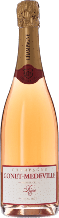GONET-MÉDEVILLE Rosé Extra Brut 1er Cru, Lea & Sandeman