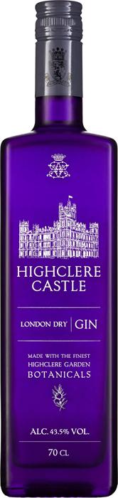 HIGHCLERE CASTLE London Dry Gin, Lea & Sandeman