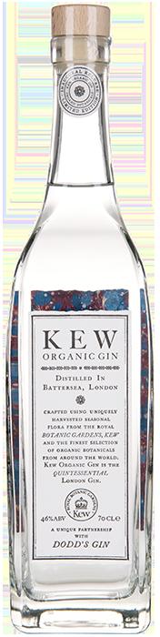 KEW ORGANIC GIN Dodd's Gin, Lea & Sandeman