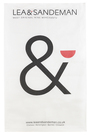 L&S TEA TOWEL Ampersand Logo