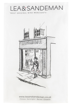 L&S TEA TOWEL Napolean at Fulham Road, Lea & Sandeman