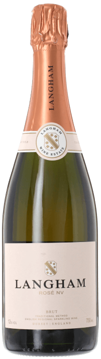LANGHAM ESTATE Rosé Brut English Sparkling Wine, Lea & Sandeman