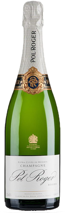 POL ROGER White Foil Brut Champagne, Lea & Sandeman