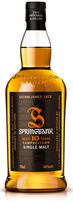 SPRINGBANK 10 Year Old Campbeltown, Lea & Sandeman