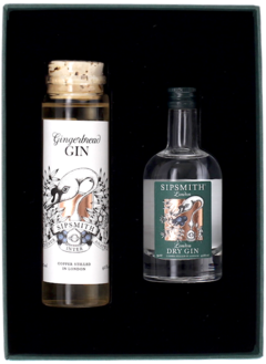 THE GINGERBREAD GIN GIFT BOX Sipsmith Distillery, Lea & Sandeman