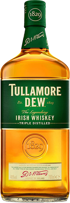 TULLAMORE D.E.W. Irish Whiskey, Lea & Sandeman