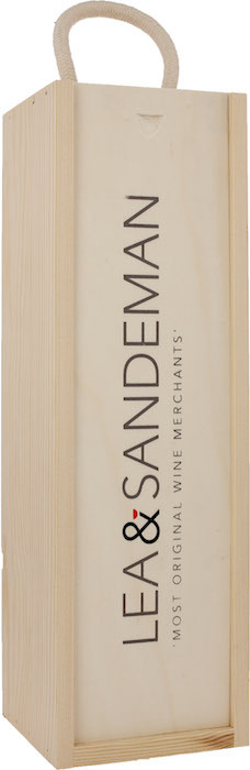 WOODEN GIFT BOX Magnum With Rope Handle, Lea & Sandeman